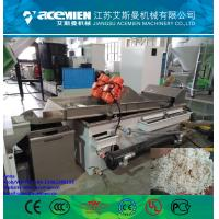 Single screw recycling and pelletizing machine