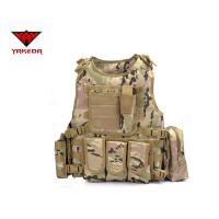 Best Comfortable Military Bulletproof Vest , Molle Airsoft Paintball Plate Carrier wholesale