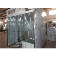 Best Sampling / Dispensing Booth For Powder Weighting , Positive Pressure Clean Room ISO 5 wholesale
