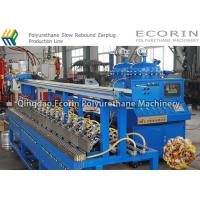 Continuous Slow Rebound Earplug / Earbuds Manufacturing Machine 0.01 - 99.9 S