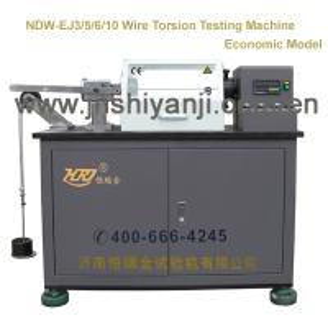 Best NDW-EJ3/5/6/10 Metal Wires Torsion Testing Machine wholesale
