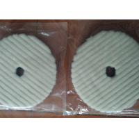 Cheap OEM Anti Static Wool Polishing Pad Single Side With Hook And Loop Grip Backing for sale