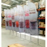 Best Full Printed Polyester Beach Flag Banner , Flying Banners And Flags Outdoors & Accessories wholesale