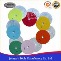 Best 7 Inch Diamond Polishing Pads For Marble / Granite Various Color wholesale