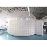 Best 3.8m Height Plato Inflatable Igloo Marquee For Trade Show wholesale