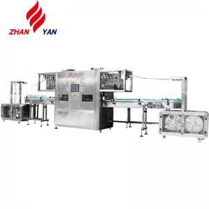 China Customized Automatic Label Applicator Machine , Shrink Sleeve Label Machine on sale