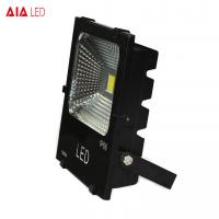 Buy cheap Aluminum waterproof IP66 white/black SMD 50W LED Flood lights for exhibition from wholesalers