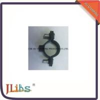 Quality 8mm - 54mm M6 Single Pipe Clamp Fittings Black Coating Without Screw wholesale