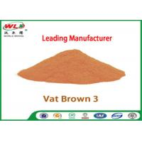 Best Eco Friendly Fabric Dye C I Vat Brown 3 Brown RN Dyeing Of Cotton Fabric wholesale