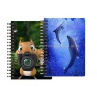Best Custom Animal Design 3D Lenticular Notebook For Kids Cute Souvenir Gift Stationery wholesale