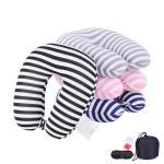Best Custom OEM Memory Foam Neck Pillow Travel Size Memory Airplane Pillow wholesale