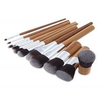Buy cheap Custom Eco Bamboo Makeup Brushes / Woman High End Travel Makeup Brushes from wholesalers