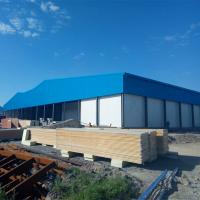 China Galvanized Metal Building Warehouse Steel Factory Construction on sale