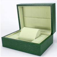 Best Green Paper Watch Box / Jewelry Wooden Box Packaging Eco-friendly wholesale