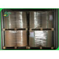 Best Width 240 - 500mm Good Stiffness Stable Thickness 50gsm FDA Kraft Paper In Roll wholesale