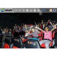 Best Amazing 7d Simulator Cinema With Pneumatic / Hydraulic / Electronic Systems wholesale