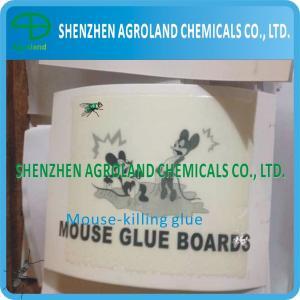 Cheap Bio Degradable Rat Glue Boards Transparent / Light Yellow Liquid For Killing Mice for sale