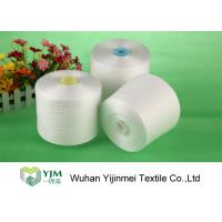 Cheap Bright Ring Spun Polyester Yarn On Plastic / Paper Cone With 100% Virgin PES for sale