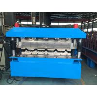 Quality Roofing Double Layer Roll Forming Machine 40GP Container By Chain wholesale