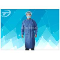 Best Water Resistant PP Disposable Scrub Suits / Isolation Gowns with knitted cuffs wholesale