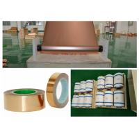 Best SGS Red Electrodeposited Copper Foil , 99.95% Purity Copper Shielding Tape wholesale