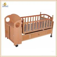 details of automatic swing wooden baby cribs mobile portable wooden crib bed 98346178. Black Bedroom Furniture Sets. Home Design Ideas