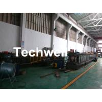 Best GI , Carbon Steel Top Hat Purlin Cold Roll Forming Machine With Manual / Hydraulic Uncoiler wholesale