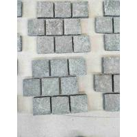 China Black Granite G684 Mesh Paving Stone For Outdoor Chinese Granite Paving for sale