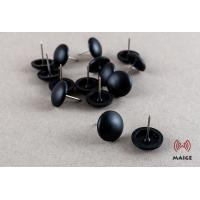 China Garment Store Security Tag Pin Fixed Head 19 Mm Dimension High Sensitivity on sale