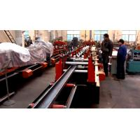 Best High Quality Galvanized Steel C / Z Purlin Roll Forming Machine , C Purlin Production Line wholesale