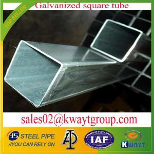Best Galvanized Square pipe/tubing wholesale