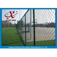 Best Diamond Wire Mesh Fence Chain Link Fence For Outdoor Playground 50 * 50mm wholesale