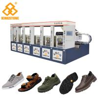 Best Two Layer Shoe Sole Mould Making Machine , Safety Shoe Making Machine Low Labour wholesale