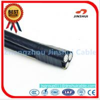 Cheap Customized Size Triplex Aluminum Wire ABC Cables , Outside Overhead Electrical for sale