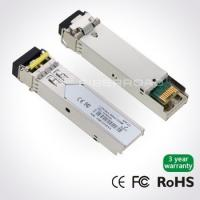 China 1.25Gbps DWDM SFP 80KM Optical Transceiver Module For Gigabit Ethernet on sale
