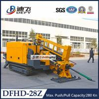 Best Geotechnical Drilling Rig 28Tons Pipeline Horizontal Directional Drilling Rig DFHD-28Z wholesale