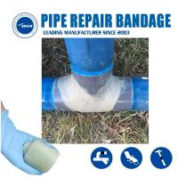 Best Water Activated Fiberglass tape Repair gas and water pipe leak crack Quick Patch Pipe Reinforce bandage wholesale