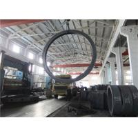 Best Max OD 5000mm A350 LF3 LF6 Carbon Steel Forging Rings Rough Machined Q+T Heat Treatment wholesale