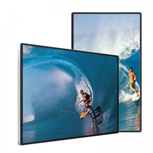 Best 8 Bit 16.7M Stand Advertising Display 5ms Response IR Touch wholesale