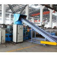 Best 380V Plastic Pelletizing Machine / PP or PE Film Crushing And Cleaning Production Line wholesale