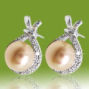 Best Pearl Earrings (ESF1133B) wholesale