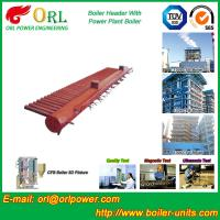 Best Electrical CFB Boiler Header / Water Header With Natural Circulation wholesale
