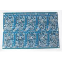 Best Double Sided FR4 Electronic Printed Circuit Board Blue Soldmask HASL Lead Free wholesale