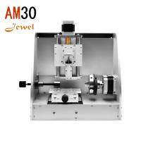 Best am30 small portable cnc jewelery engraving machine wedding ring engraver bracelet nameplate engraving router for sale wholesale