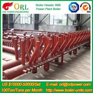 Best Plant CFB Boiler Heating Power Chemical Oil Chemical Industry 240 MW Boiler Header SGS wholesale