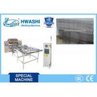 China Hwashi Automatic Welded Wire Mesh Machine for Reinforcing Fence Mesh on sale