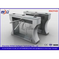 Best Automation RFID Stainless Steel Turnstile Access Control For Office Building wholesale