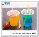 Best 2oz/4oz/8oz/10oz /14oz PET cups whoslesale /disposable plastic milkshake cups wholesale