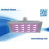 Cheap Bathroom square Overhead Shower Head Water Efficient Detachable wholesale