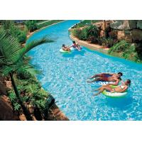 Best Family Fun Water Park Lazy River Artificial Pool With High - Pressure Air Pump wholesale